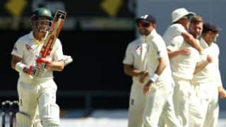 The Ashes 2017-18, 1st Test, Day 2: Australia lose 3 wickets before tea; trail by 226