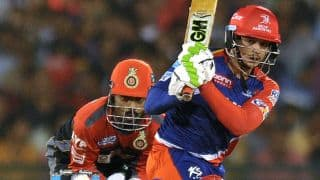 RCB bowlers restrict DD to 138 for 8 despite Quinton de Kock's 60 in IPL 2016 Match 56 at Raipur
