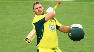 Aaron Finch, David Warner power Australia to 348/8 against India in 4th ODI at Canberra
