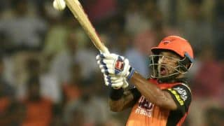 Indian T20 League 2018: Enjoy playing long innings, says Shikhar Dhawan after Hyderabad to win over Rajasthan