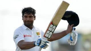 Kumar Sangakkara in self-isolation after returning home from Britain