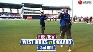 West Indies vs England, 3rd ODI preview: Eoin Morgan's men eye clean-sweep; Jason Holder and co. play for pride