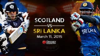 Sri Lanka vs Scotland, ICC Cricket World Cup 2015 Pool A Match 35 Preview