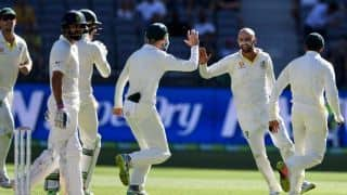 2nd Test: Australia five wickets from levelling series in Perth