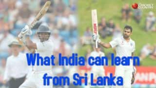 Sri Lanka's performance should boost India's chances