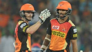 IPL 2017: Williamson praises aggressive Dhawan after SRH win over KXIP
