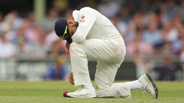 India fall to 7th in ICC Test rankings