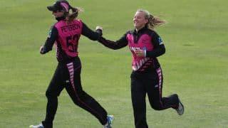 Women's World T20: New Zealand's Leigh Kasperek fastest to 50 T20I wickets