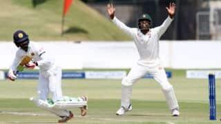 Zimbabwe ws Sri Lanka, 2nd Test, Tea Report: Upul Tharanga, Dhananjaya de Silva stabalise after initial setback