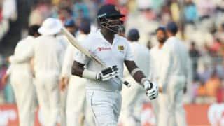 IND vs SL, 1st Test: Mathews praises IND bowling attack