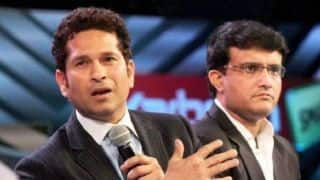 Tendulkar expects good things from BCCI President-elect Sourav Ganguly