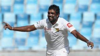Dilruwan Perera glad to better Muttiah Muralitharan's record