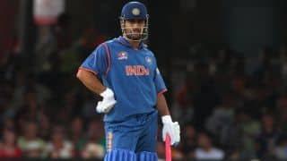 MS Dhoni enjoys golf in perfect weather condition