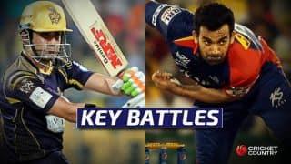 IPL 2016, Kolkata Knight Riders vs Delhi Daredevils, Match 2 at Kolkata: Gautam Gambhir vs Zaheer Khan