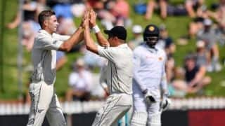 1st Test, Day 1: Tim Southee stars as Sri Lanka struggle in New Zealand