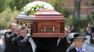 Hughes' funeral: Bidding adieu to the