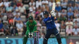 Match Report: England beat Pakistan by 44 runs (D/L Method) in 1st ODI