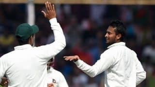 Bangladesh 2/0 at lunch on Day 2