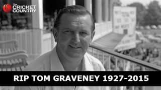 Tom Graveney: One of the most elegant batsmen of all time