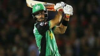 Big Bash League 2018-19: Glenn Maxwell shine as Melbourne Stars wins over Sydney Thunder