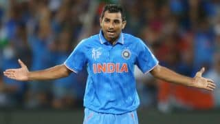 West Indies wrapped up for 182 by India in ICC Cricket World Cup 2015