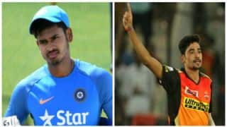 Shreyas Iyer, Mohammed Siraj receive maiden T20I call-up