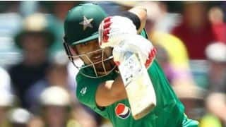 ICC WORLD CUP 2019 (Practice Match):Babar Azam hits century, Pakistan Post 262/10 against Afghanistan