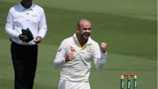 Nathan Lyon equals Muttiah Muralitharan record of Most five wicket hauls against India in Tests