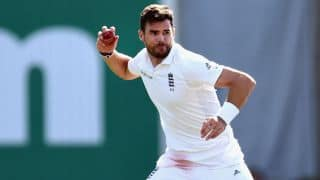 James Anderson completes five-wicket haul against India in 3rd Test at Southampton