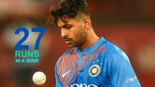 Nidahas Trophy, 1st T20I, India vs Sri Lanka: Shardul Thakur's miserable over, other statistical highlights