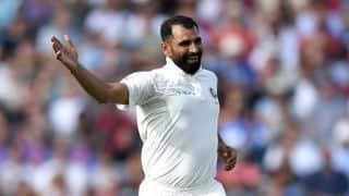 Ahead of Australia series, BCCI limits Shami's workload in Ranji game