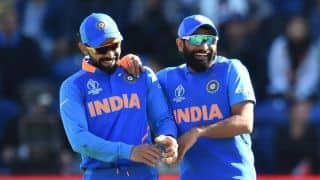 Cricket World Cup 2019: Mohammed Shami becomes second Indian bowler to claim World Cup hat-trick