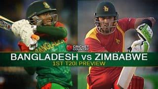 Bangladesh vs Zimbabwe 2015 1st T20I at Dhaka, Preview: Visitors eye comeback after whitewash in ODIs