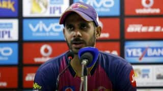 Manoj Tiwary credits Mohammed Shami for MS Dhoni's dismissal during DD vs RPS clash