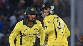 India vs Australia, 4th ODI: The partnership between Usman Khawaja and Peter Handscomb was crucial; Says Aaron Finch