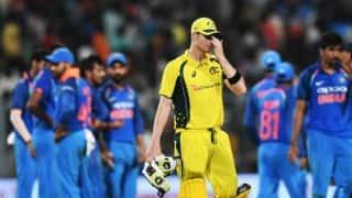 Steven Smith holds poor batting responsible for Australia's 50-run loss to India in 2nd ODI at Kolkata