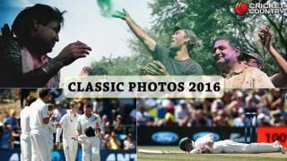 Year-ender 2016: Classic cricket photographs