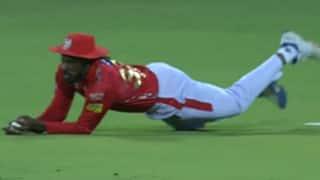 Video: राजस्थान रॉयल्स के खिलाफ मैच में क्रिस गेल ने लिया हैरतअंगेज कैच