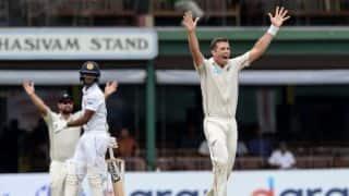 Sri Lanka vs New Zealand: Tim Southee follows new-ball partner Trent Boult to 250 Test wickets