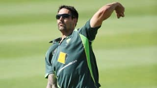 Pakistan vs Australia 2014: Mitchell Johnson fit to play ODIs, confirms George Bailey