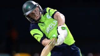 Ireland beat UAE by 2 wickets in thrilling match at ICC Cricket World Cup 2015