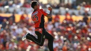 BBL 2017-18: Mitchell Johnson extends stay with Perth Scorchers