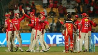 IPL 2017: Royal Challengers Bangalore (RCB) vs Kings XI Punjab (KXIP), Match 43: Akshar Patel's all-round show, Mandeep Singh's lone battle and other highlights