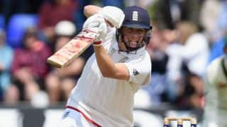 Gary Ballance out for 0 on Day 3 of 1st Ashes Test at Cardiff