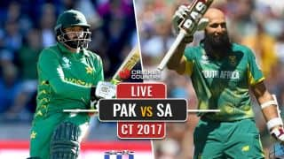 PAK 119/3 in 27 overs | LIVE Cricket Score, Pakistan vs South Africa, ICC Champions Trophy 2017: PAK win by DLS method