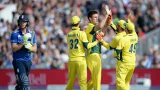 Marsh, Hastings demolish England for 138 against Australia in 5th ODI at Old Trafford
