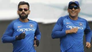 Ramji Srinivasan and Gregory Allen King are behind MS Dhoni's fitness