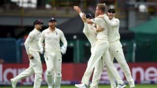 स्टुअर्ट ब्रॉड ने कहा, जेम्स एंडरसन के साथ पांचों टेस्ट मैच में खेलना मुश्किल