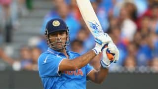 VIDEO: Dhoni hits 31kmph mark while running between wickets