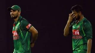 World Cup 2019: Mashrafe Mortaza wants to apologize to shakib al hasan after defeat